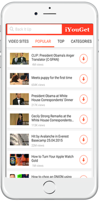 YouTube Video Downloader For iOS (iYouGet) Free Download
